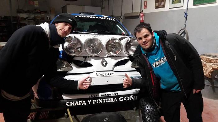 Goñik eta Arivek ezin izan zuten Legazpi-Gabiria Rallysprintean puntuatu