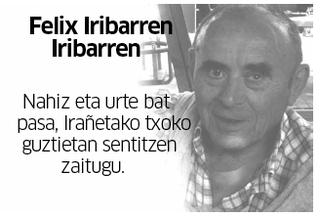 Felix Iribarren Iribarren