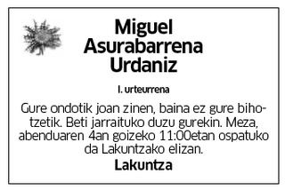 Miguel Asurabarrena Urdaniz