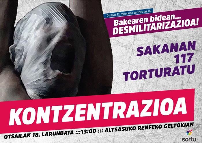 Sakanan 117 torturatu