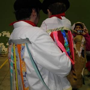 Irañetan Santa Ageda eta inauteriak ospatu zituzten