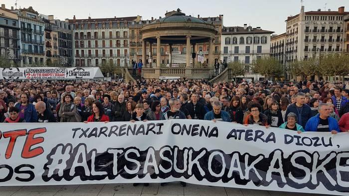 Espainiako Auzitegi Nazionalak Altsasuko auzia ilbeltzaren 14tik 16ra berrikusiko du