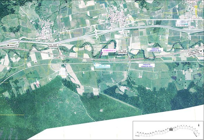 Iruñea eta Gasteiz arteko AHT ibilbide proiektua jendaurrean  - 10
