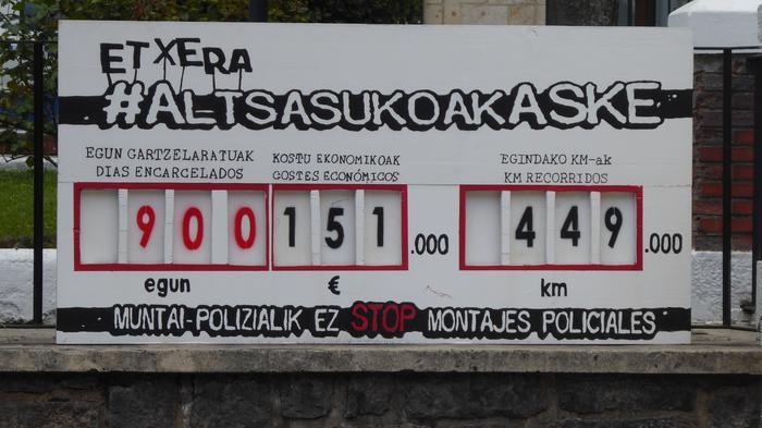 Altsasuarrak 900 egun preso