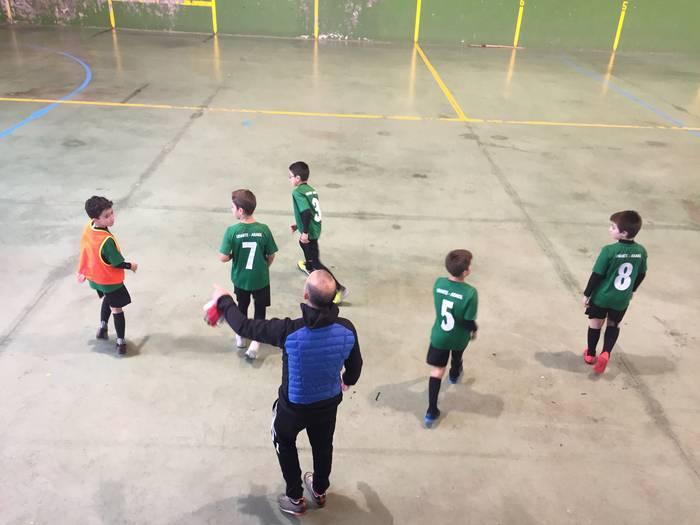 Sakanako Futbol Topaketak: kimuak igandean Dantzalekun