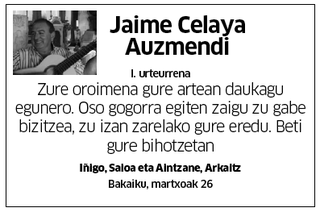 Jaime Celaya Auzmendi