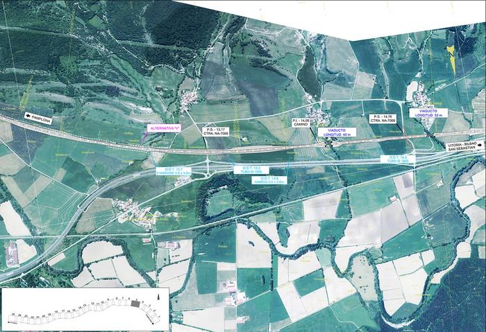 Iruñea eta Gasteiz arteko AHT ibilbide proiektua jendaurrean  - 3