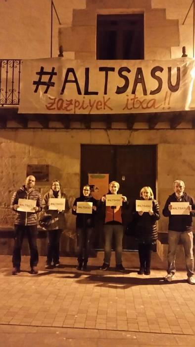 #Altsasu manifestaziorako atxikimenduak eta eguneko irudiak - 9