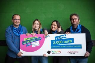 Lizarrako Mintzamendipintxopotepraktika taldeak irabazi du Euskararen Ginkanako 5. Edizioa