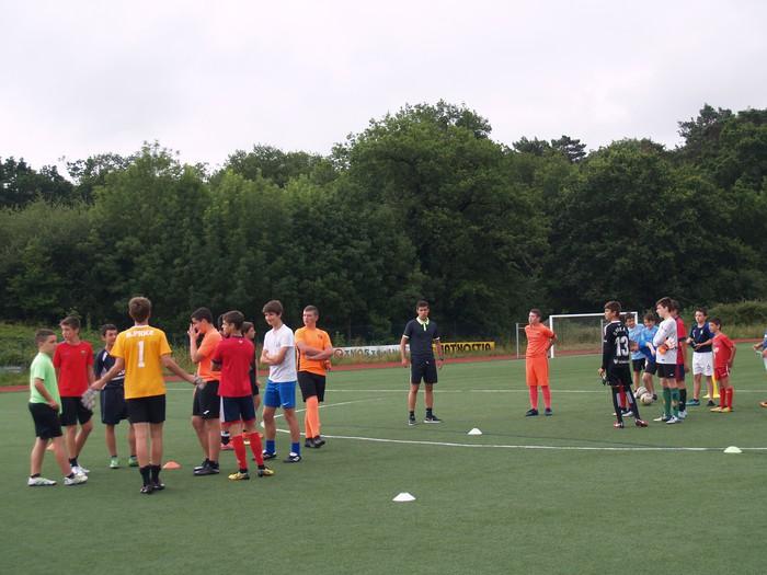 Sakanako Futbol Campusa: bigarren txanda lanean - 7