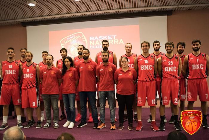 Iraolaren Basket Navarra taldearen aurkezpena