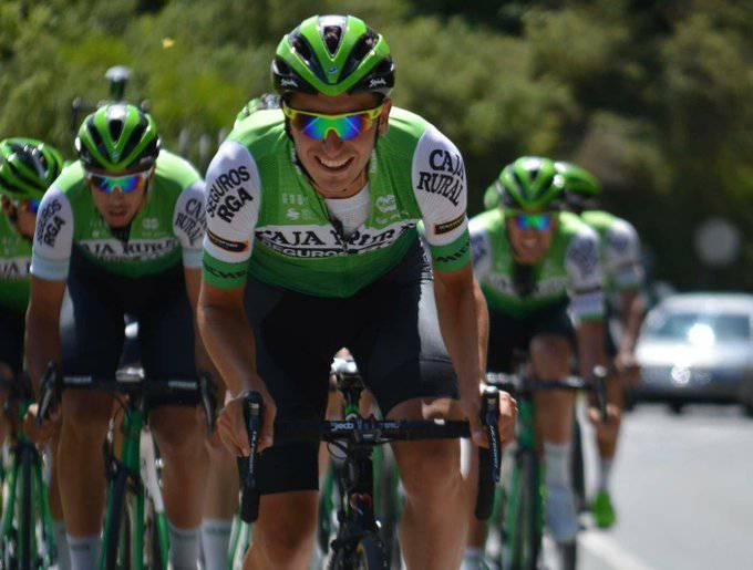 Rural Kutxa taldea Iruñean kontzentratuta dago Vuelta prestatzen