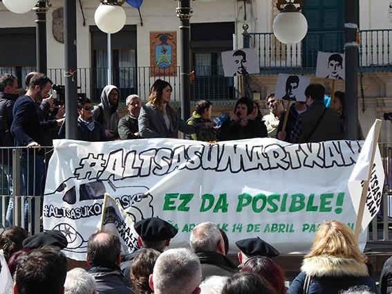 Iruñeko manifestazioaren zain  - 23