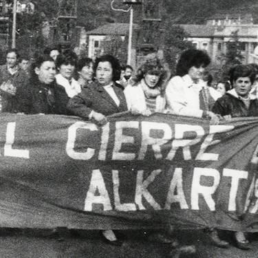 'Nosotras las mujeres de Euskalduna' dokumentalaren proiekzioa. IAGAk antolatuta.