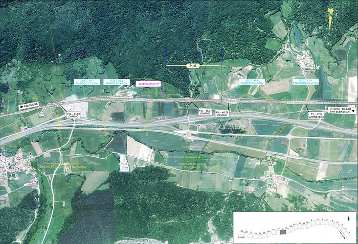 Iruñea eta Gasteiz arteko AHT ibilbide proiektua jendaurrean  - 14