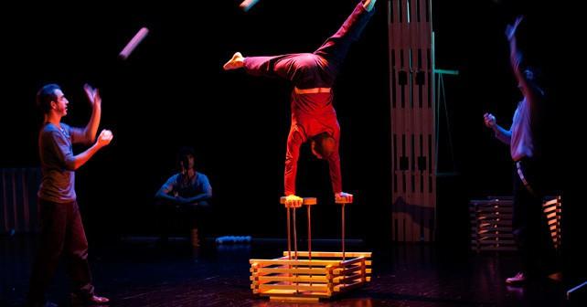 Da Vincin oinarritutako zirku koreografikoa