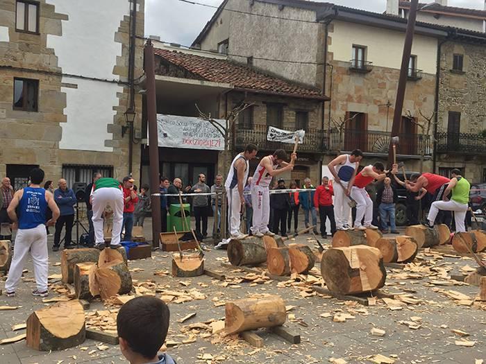 Resano eta Beltza Nafarroako II. Mailako Aizkora Txapelketako finalean