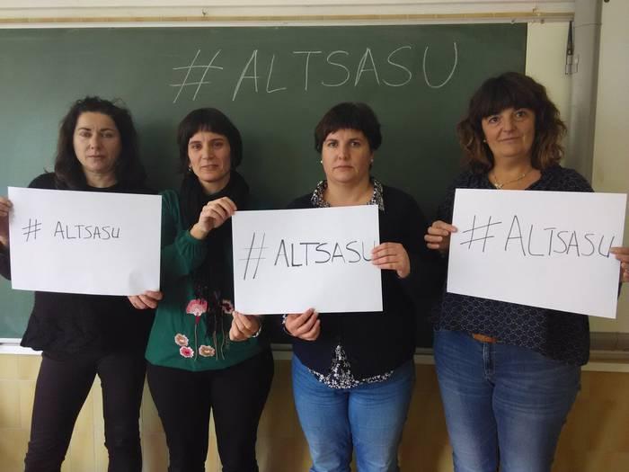 #Altsasu manifestaziorako atxikimenduak eta eguneko irudiak - 41