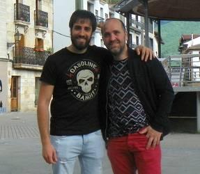 """Oier Albiztur eta Aitor Beramendi: """"Nafarroa Oinez festa irudikatu nahi genuen"""""""