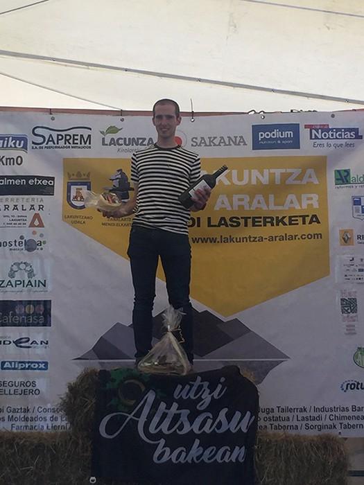 Beñat Katarainek etxeko proba irabazi zuen - 61