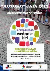 AUZOKO JAIA 2017 ANTZUOLAN