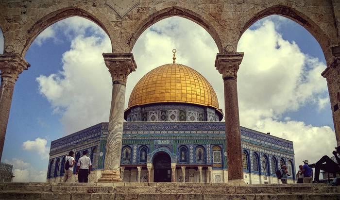 Al Aqsa, Jerusalemeko argi eta itzala (Jerusalem, Palestina 2015)