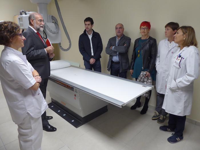 Erradiografiak egiteko Iruñera joan beharrik gabe