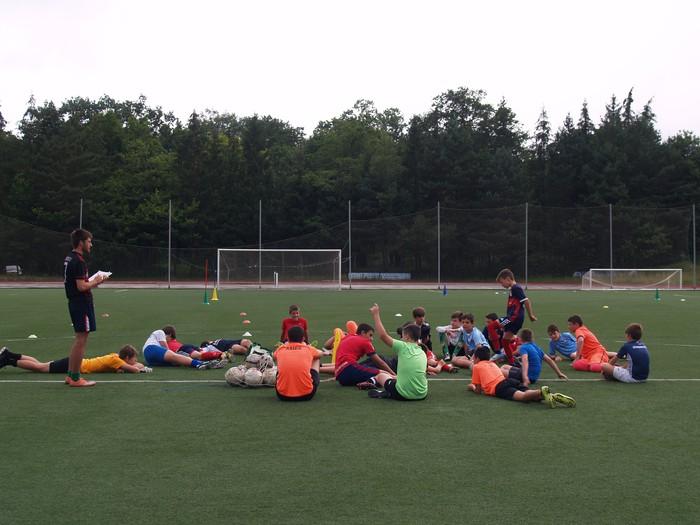 Sakanako Futbol Campusa: bigarren txanda lanean - 4