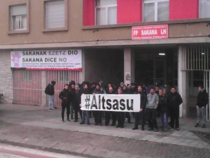 #Altsasu manifestaziorako atxikimenduak eta eguneko irudiak - 12