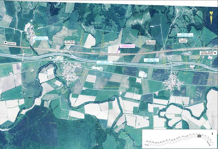 Iruñea eta Gasteiz arteko AHT ibilbide proiektua jendaurrean  - 4