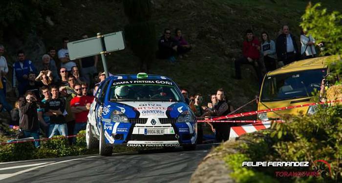 Goñi eta Aribe 15.ak VI. Lea-Artibai Rally gogorrean