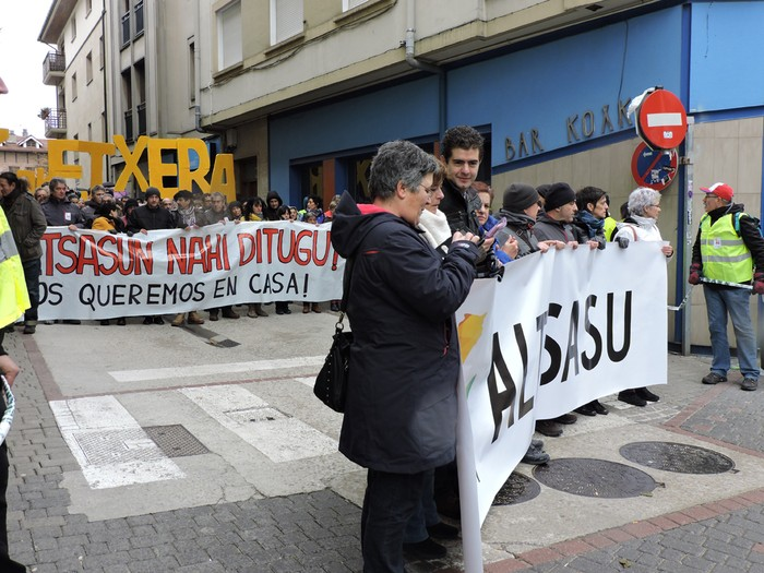 Altsasuko manifestazioa kalez kale - 12