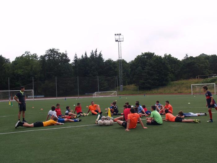 Sakanako Futbol Campusa: bigarren txanda lanean - 5
