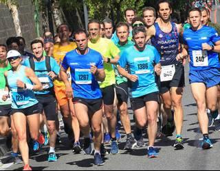Mercero gogoan Iruñeko Maratoi Erdian