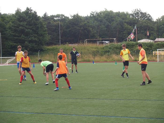 Sakanako Futbol Campusa: bigarren txanda lanean - 13