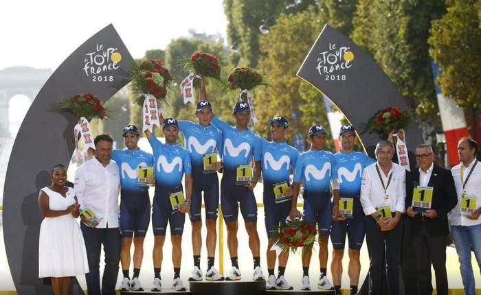 Erbitiren Movistar Team, Tourreko talde onena