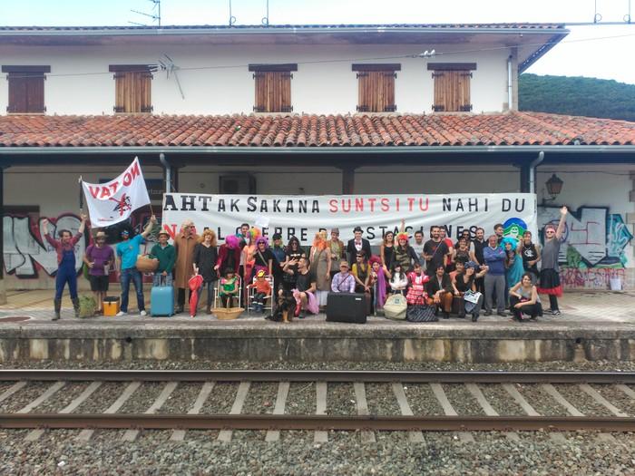 Geralekuetatik tren sozialaren alde  - 8