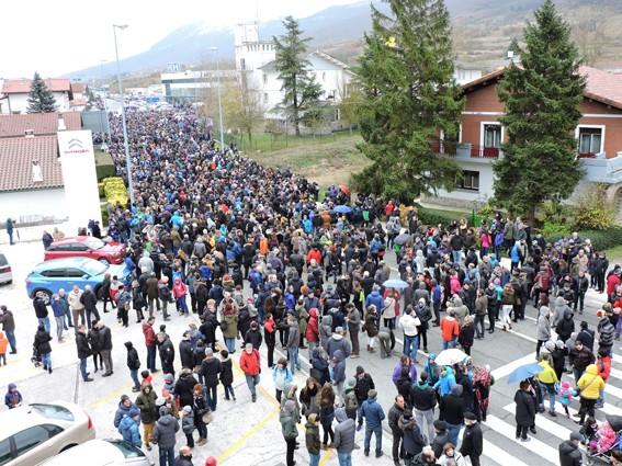 Altsasuko manifestazioa kalez kale