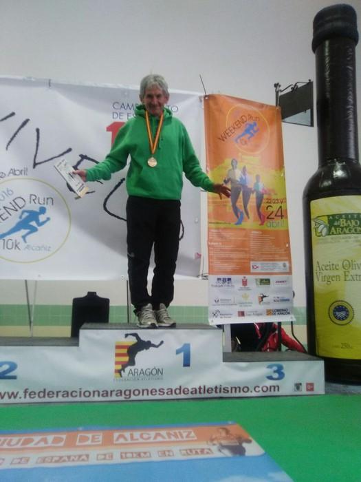 Joxe Mari Mercero, Espainiako Txapeldun