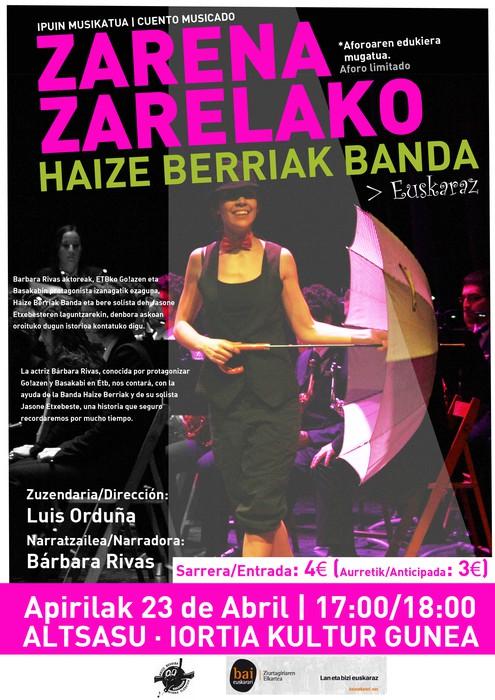 Haize Berriak bandaren musika-ipuina