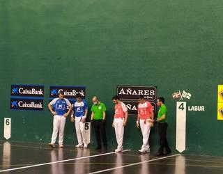Masters CaixaBank Torneoa: Ezkurdiak eta Zabaletak puntu bana bildu dute