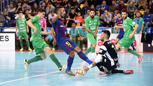 Barcelona Lassarekin hiruna berdindu zuen Osasuna Magnak
