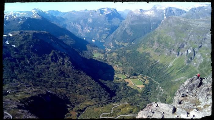 Geiranger Fiordoa - Noruega