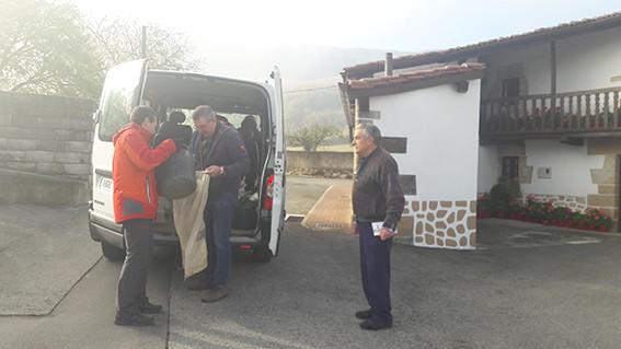 Iruñeko Alegria peñak ibarreko uzta jaso du  - 2