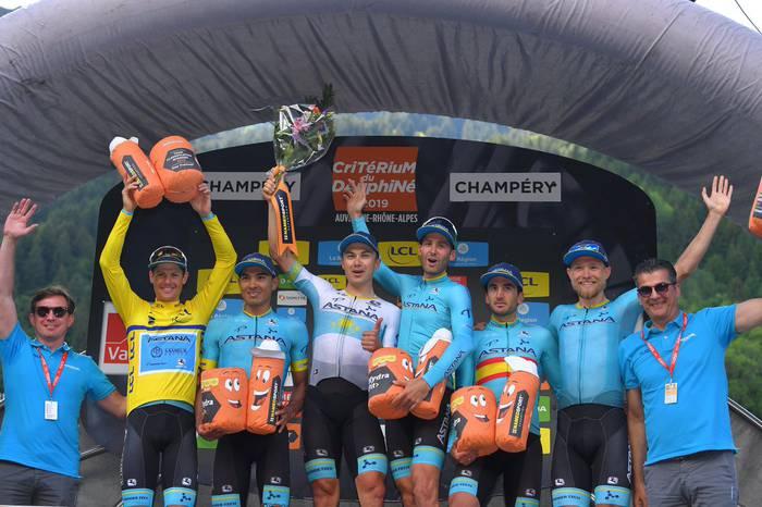 Gorka Izagirrek eta Imanol Erbitik Dauphiné osatzea lortu dute