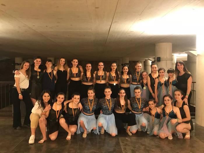 Irantzu Gonzalez Dantza Eskolako dantzariak Tarragonan