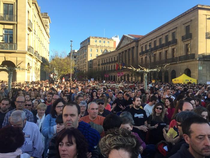 Manifestarien arrazoiak eta esperantzak