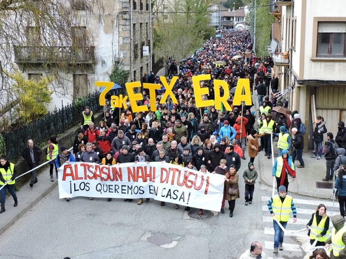 Altsasuko manifestazioa kalez kale - 6