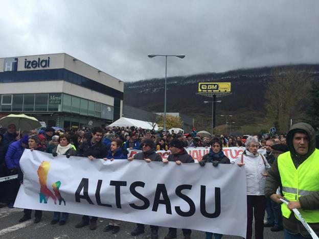 #Altsasu manifestazioak utzitako irudiak - 2