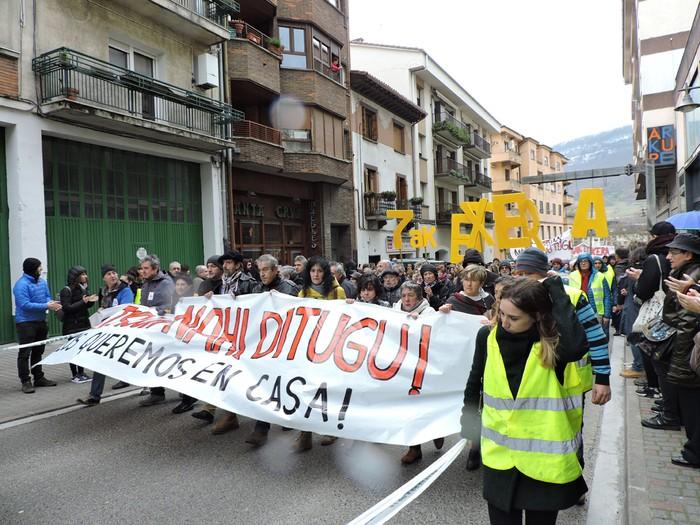 Altsasuko manifestazioa kalez kale - 7